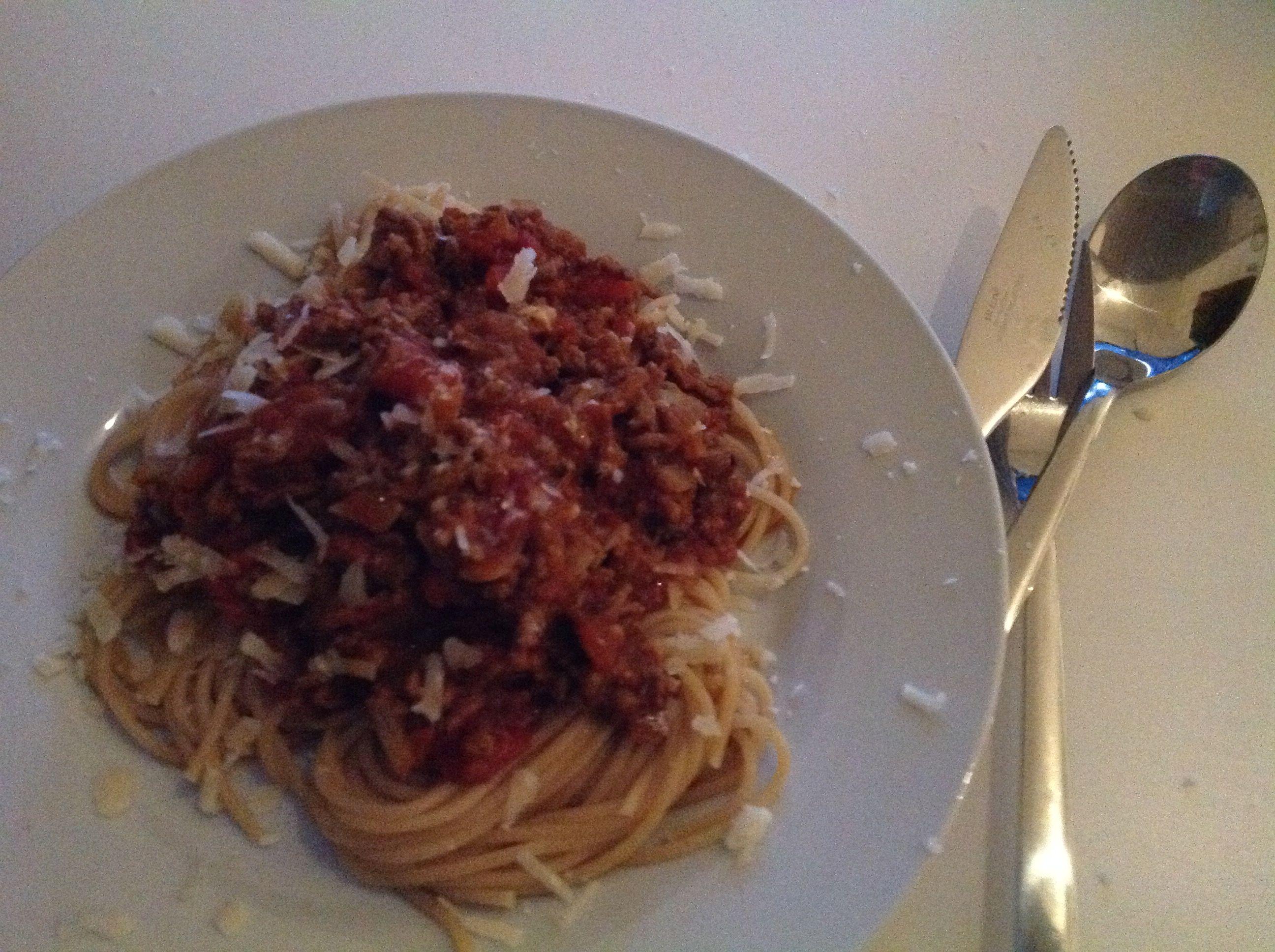 bolognese mit rotwein